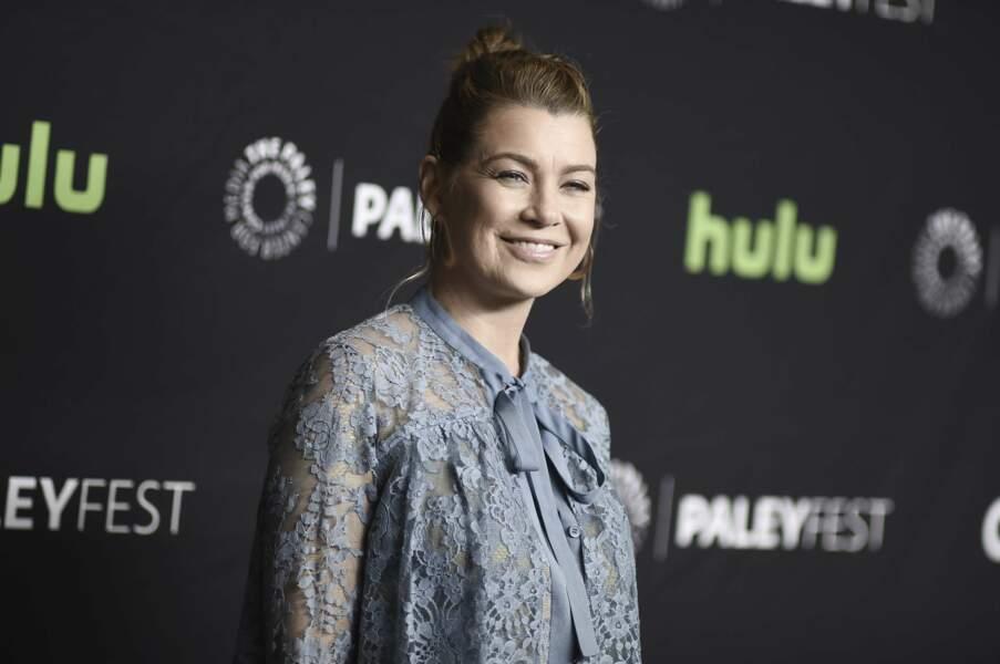 Sympa de voir les acteurs de Grey's Anatomy sans leur traditionnelle blouse blanche. Ellen Pompeo avait le sourire