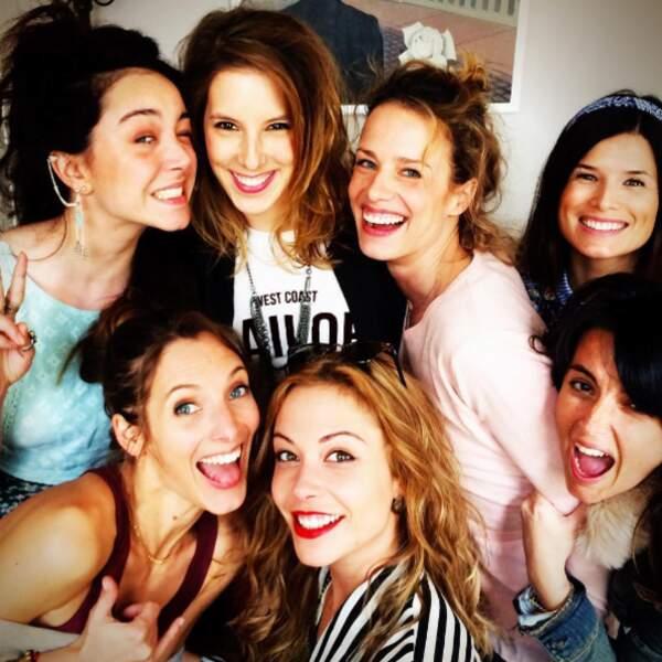 Les filles de Plus Belle La vie, plus jolies les unes que les autres.