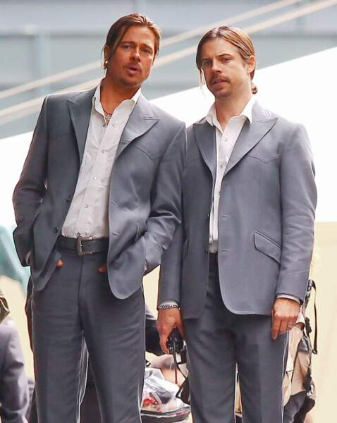 Brad Pitt et sa version... low cost, mais vraiment low cost