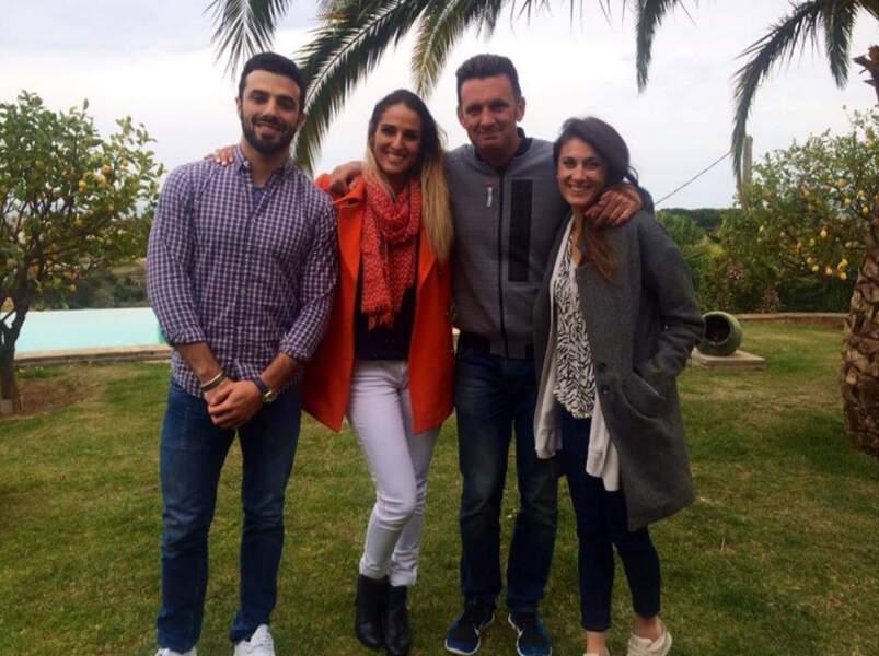 Et une dernière photo avec Romain, Laureen, Cassandre et Pascal