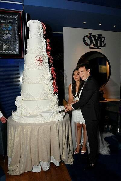 Et le traditionnel Wedding Cake est de rigueur !