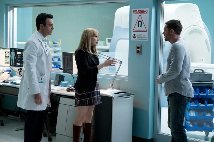 C'est lors d'une visite dans le Laboratoire qu'Eddie (Tom Hardy) prend la mesure de la gravité de la situation