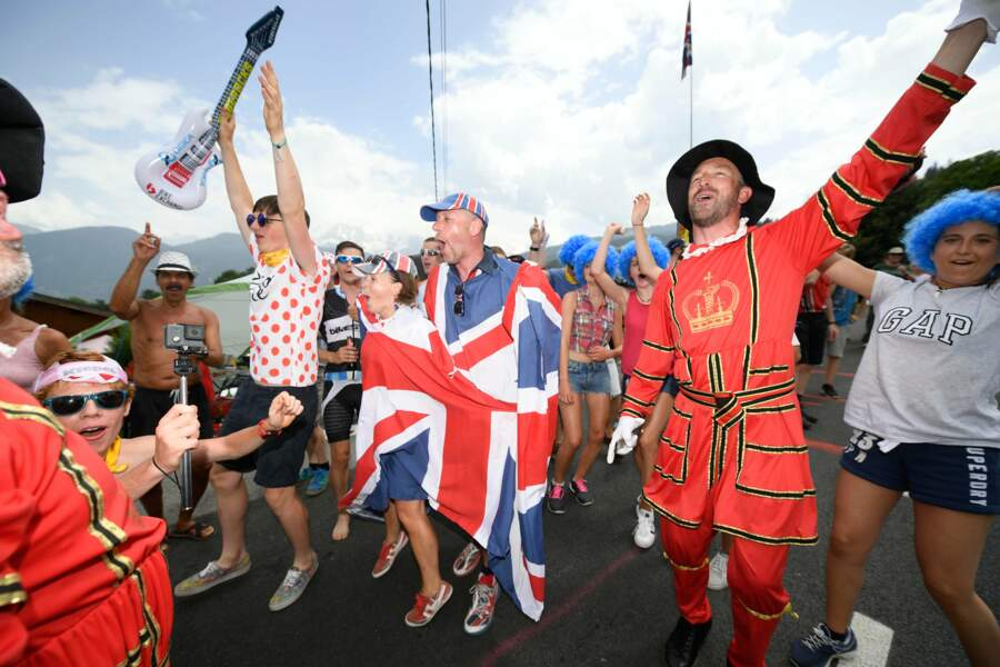 Ses compatriotes britanniques ont apprécié !