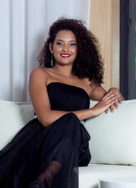 C'est Aurellia Begue qui représente l'île Maurice