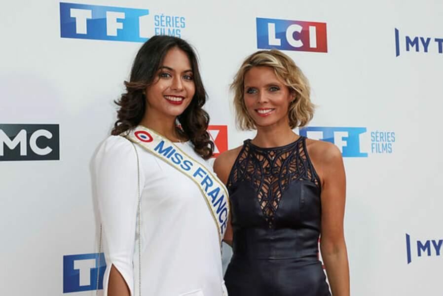 Miss France Vaimalama Chaves ne pouvait pas manquer l'évènement, tout comme Sylvie Tellier