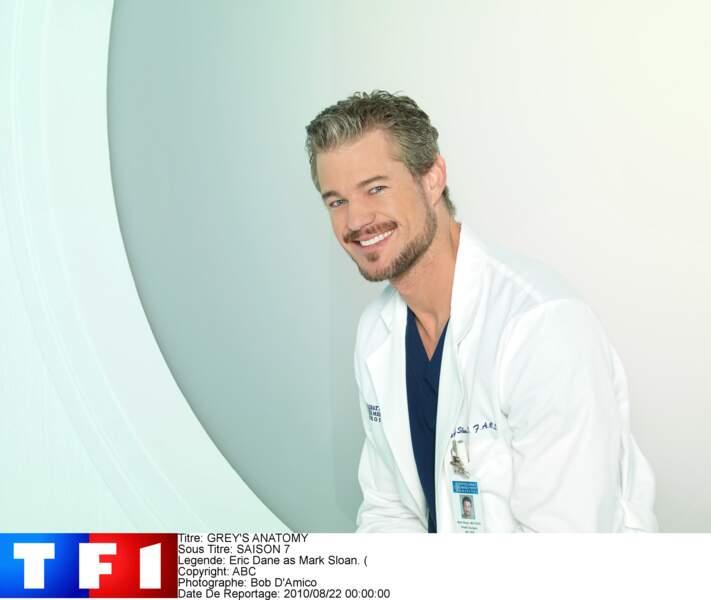 Dr. Mark Sloan (2006-2012) : le personnage d'Eric Dane meurt dans la saison 9 de Grey's Anatomy