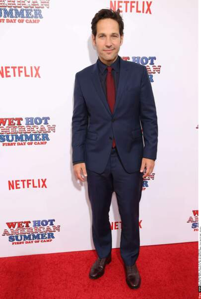 … joué par Paul Rudd, star des Marvel Ant-Man