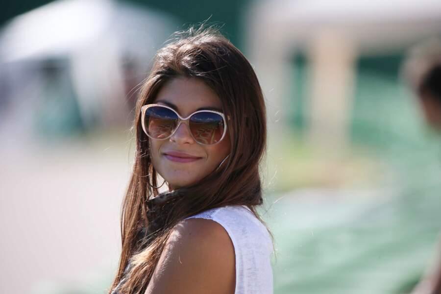 Linda Morselli tout sourire aux essais libres, à Saint Marin