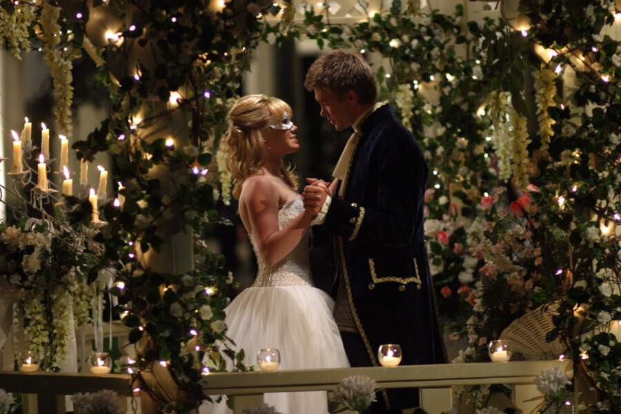 """Hilary Duff et Chad Michael Murray dans """"Comme Cendrillon"""" en 2003"""