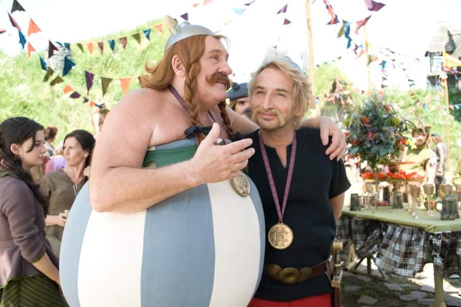 Depuis 1999 et le film de Claude Zidi, Gérard Depardieu est la figure d'Obélix sur grand écran.