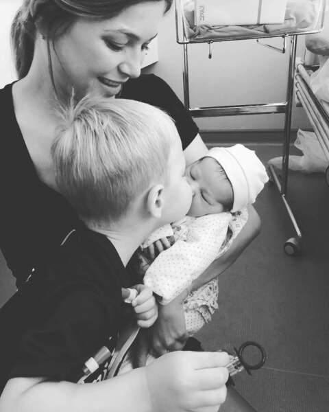 Le 7 aout 2018 la petit Nora Karabatic a vu le jour, son grand frère Alek 2 ans, l'a accueilli comme il se doit