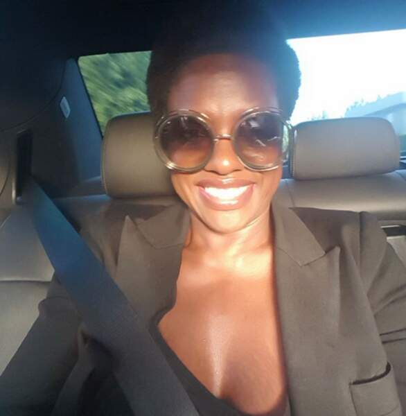Sans transition, on aime : la bonne humeur de Viola Davis...