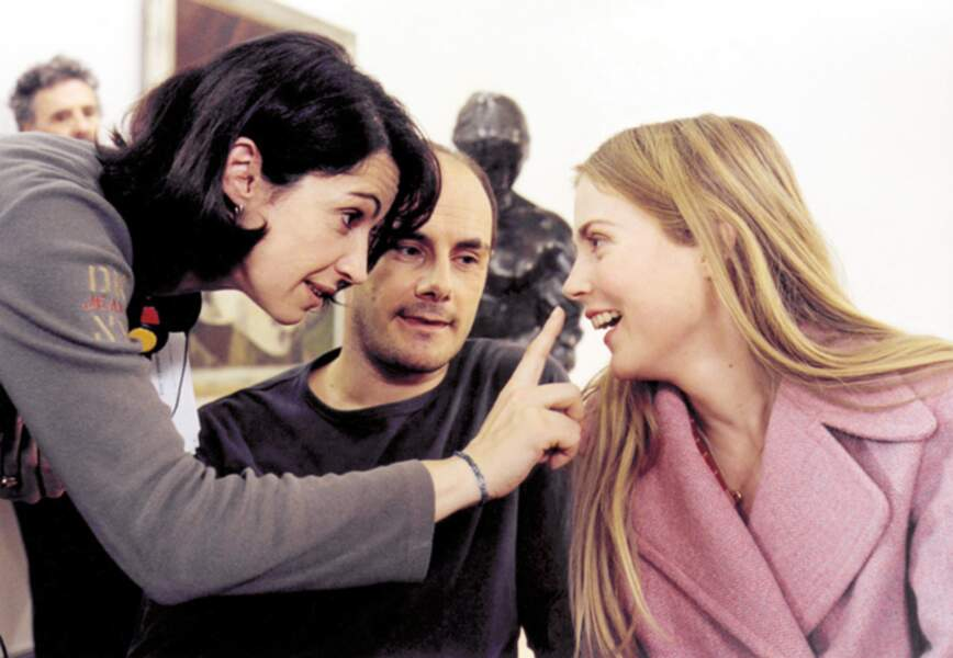 Elle joue, écrit et réalise, obtient un César pour son film Se souvenir des belles choses...Ça s'appelle le talent!