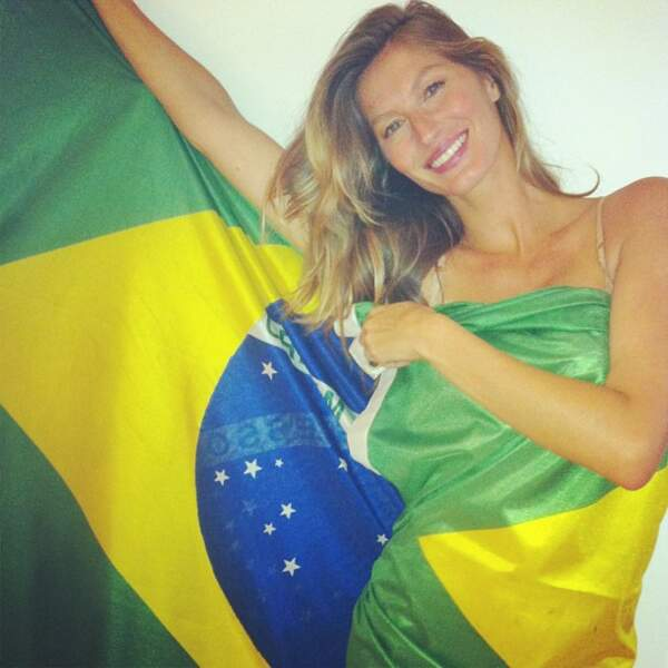 Gisele Bündchen est brésilienne.