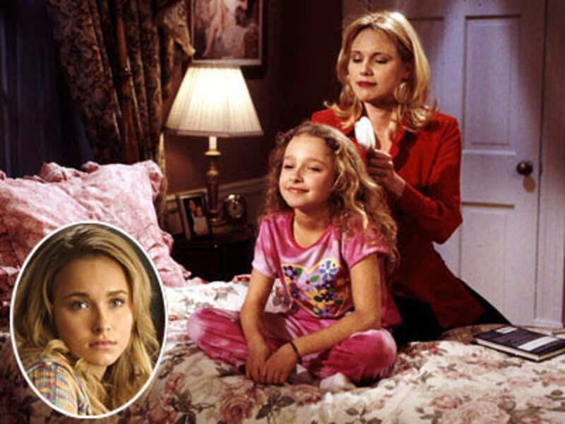 A la fin des années 1990, Hayden Panettiere interprète Lizzie, un personnage récurent du soap Haine et Passion
