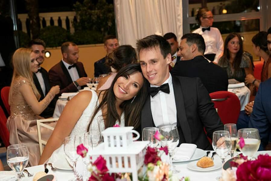 Place au dîner pour Mr et Mme Ducruet !