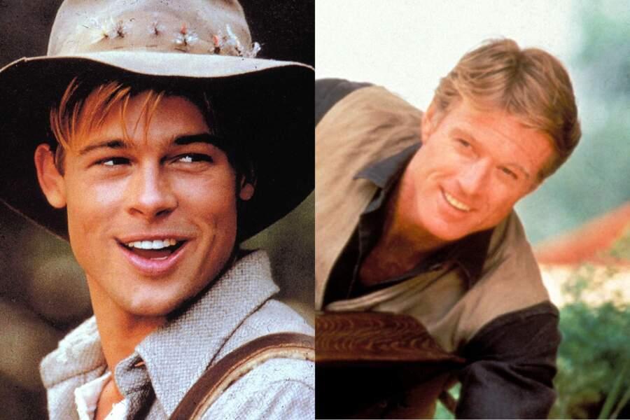 Gueules d'amour : Brad Pitt dans Et au milieu coule une rivière. Robert Redford dans Out of Africa