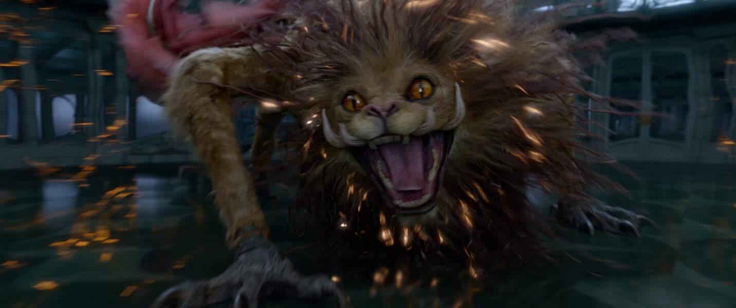 Le Zouwu. Un chat géant multicolore est une créature bienveillante doté de multiples pouvoirs