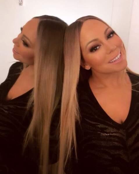 Mariah Carey n'a toujours pas compris le principe d'un miroir