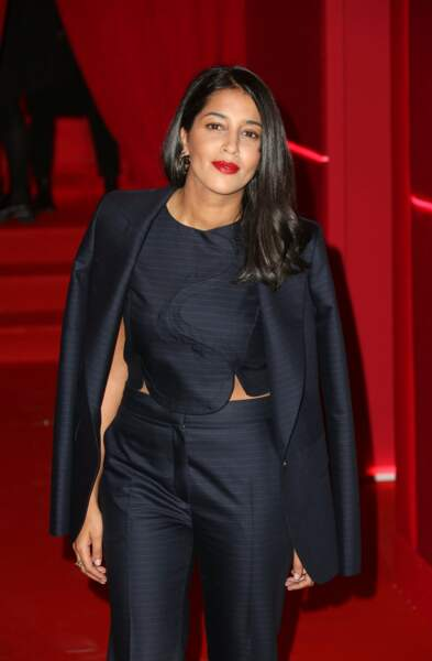 Lors d'une soirée L'Oréal, marque pour laquelle elle prête son image (2016)