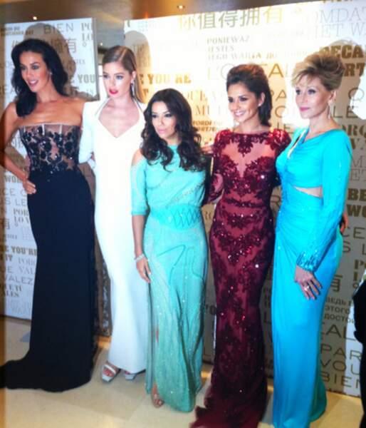 Eva Longoria et ses copines, égéries de L'Oréal