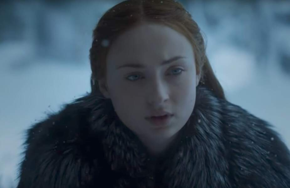 Sansa aussi a gagné en assurance