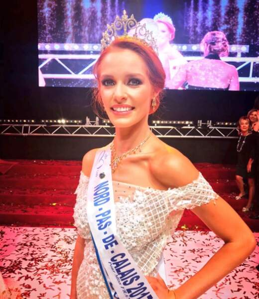 Maeva Coucke (23 ans) a été élue Miss Nord-pas-de-Calais