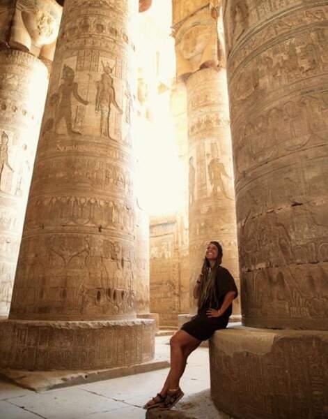 Alicia Keys rayonne en Egypte