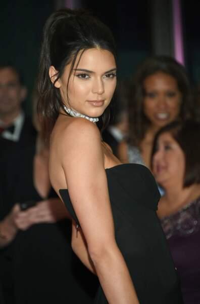 La modèle et mannequin Kendall Jenner, demi-soeur de Kim Kardashian