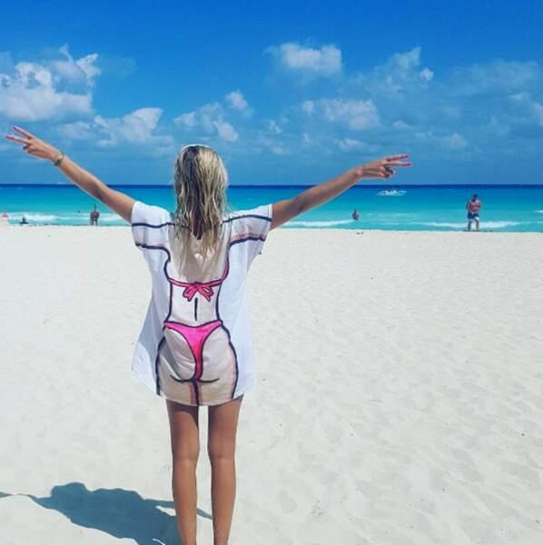 Youpi : la belle vie pour Stéphanie Clerbois au Mexique.