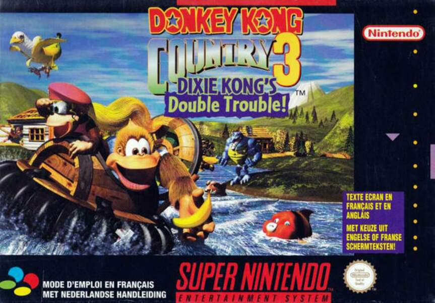 Donkey Kong Country 3 : Dixie Kong's Double Trouble - Super Nintendo (1996)