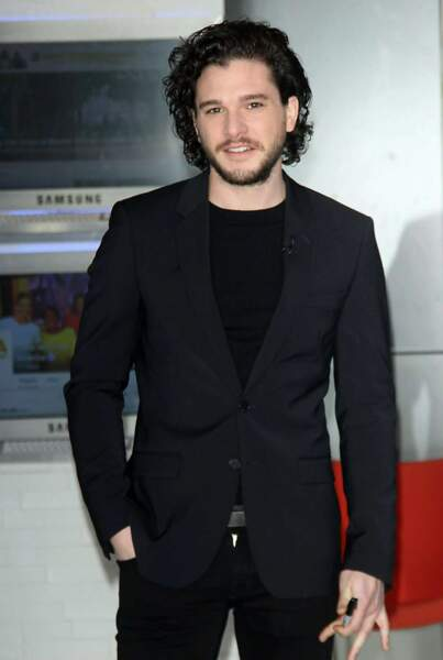 16ème place.  L'acteur Kit Harington (Game of Thrones) perd 6 places.