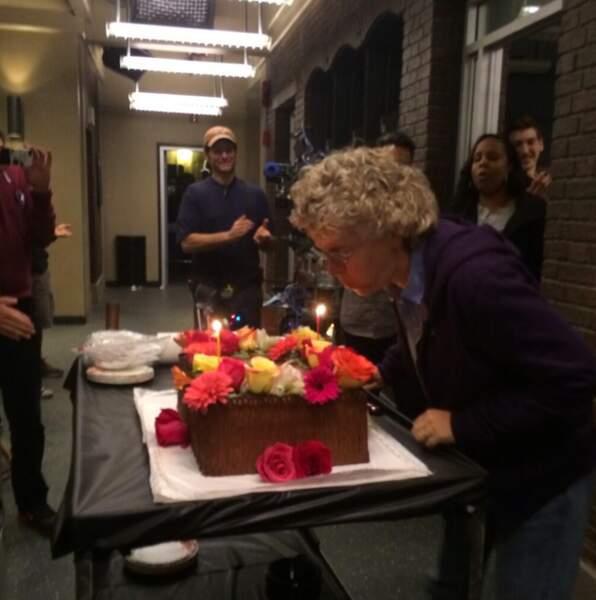 Jan Nash, nouveau showrunner de la série, fête son anniversaire en coulisses