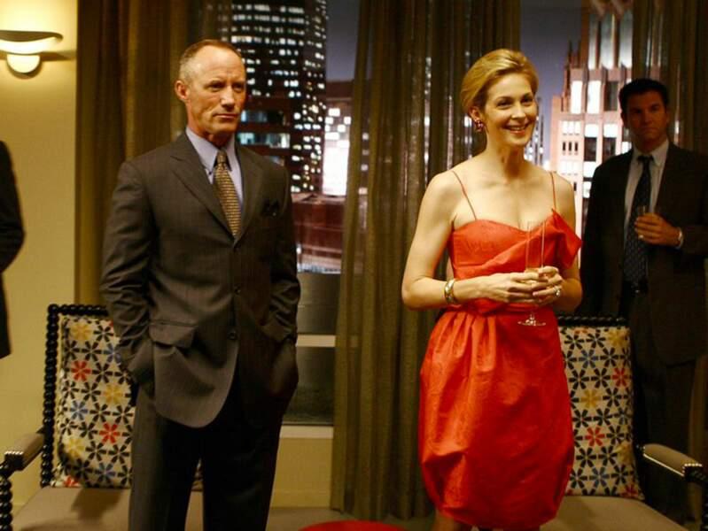 Dans Gossip Girl, le père de Chuck Bass, Bart Bass (Robert John Burke) meurt, dans la saison 2, dans un accident.