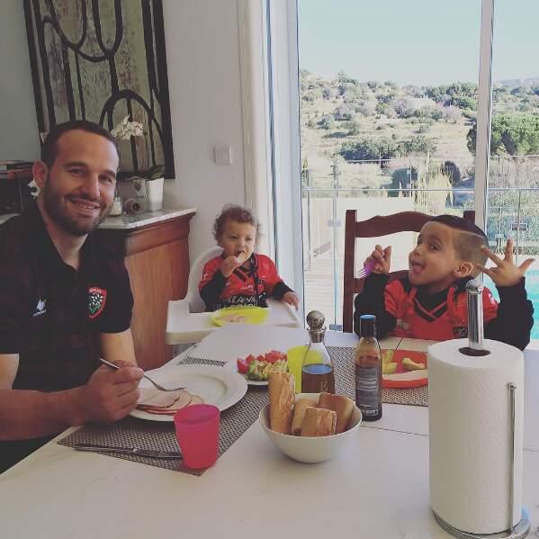 Passé de beau gosse du rugby français à père de famille, Fred Michalak a fait du chemin !