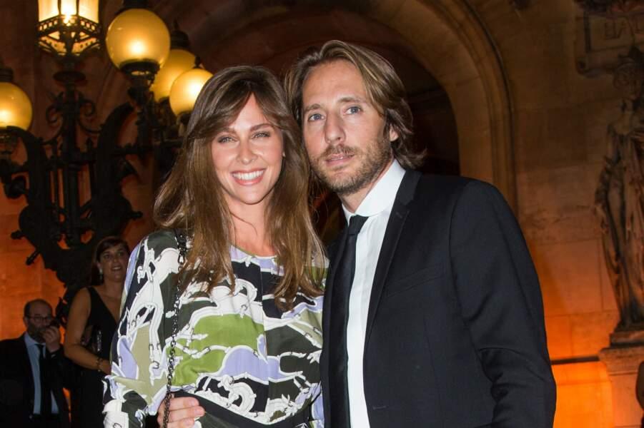 Ophélie Meunier et son mari Mathieu Vergne, toujours aussi amoureux