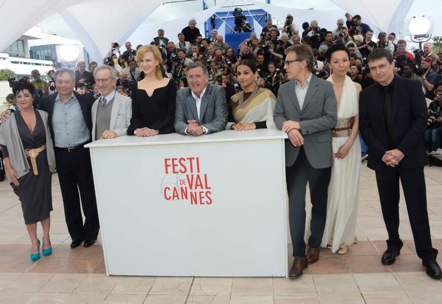 Le jury du Festival de Cannes 2013 au grand complet