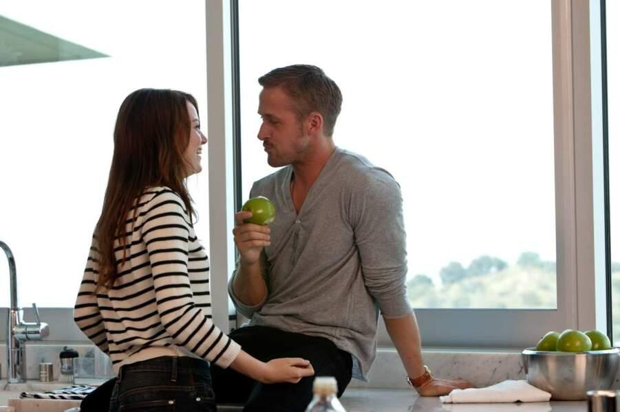 Emma Stone a joué à deux reprises avec l'acteur. Chanceuse...