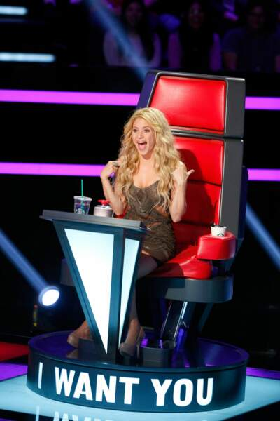 La jolie Shakira va entamer sa troisième saison sur The Voice USA !