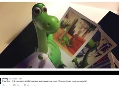Le voyage d'Arlo : le nouveau héros Disney fête le #Dinovembre en votre compagnie
