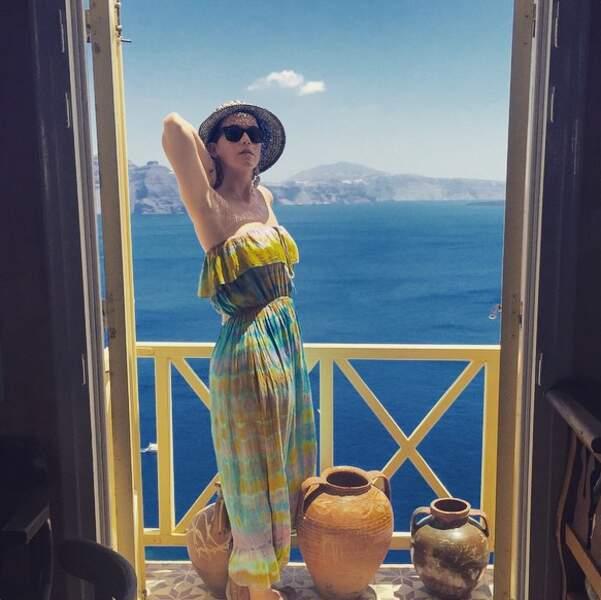 Katy Perry nous a offert une vue à couper le souffle depuis la Grèce.