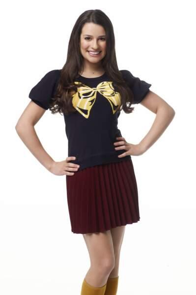 Lea Michele incarnait Rachel
