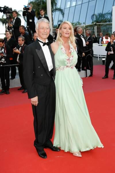 Jean-Claude Narcy et sa femme