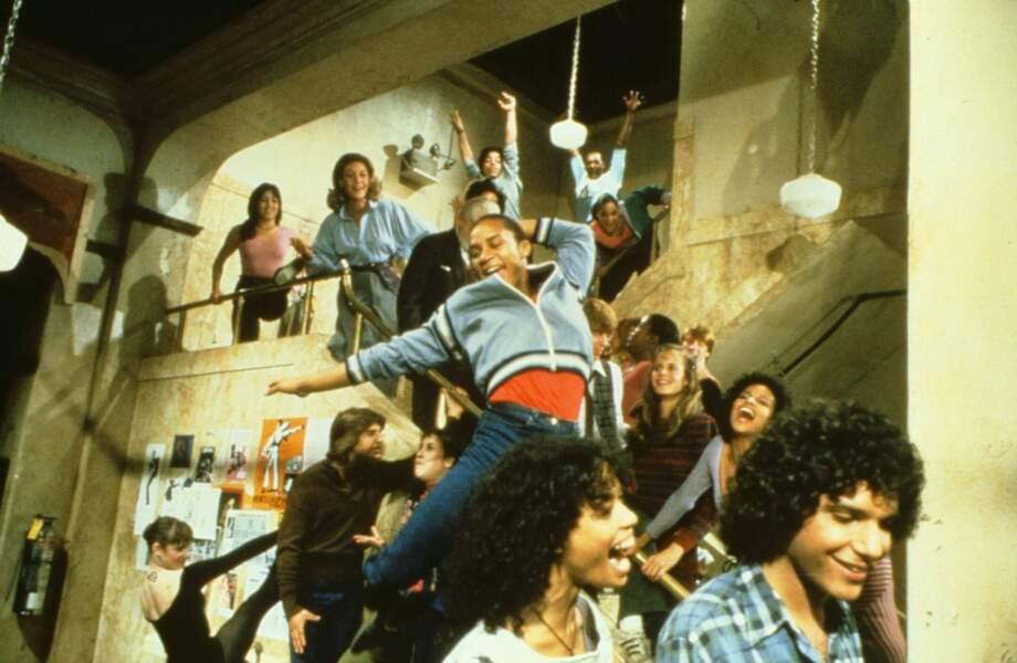 Une école, des apprentis danseurs en quête de gloire et un film incontournable de 1980 : Fame !