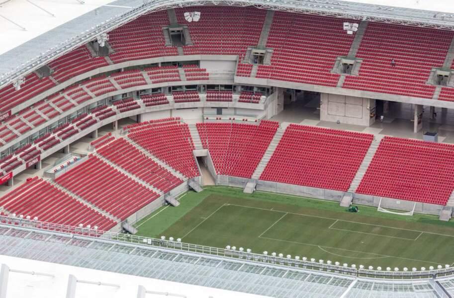 Arena Pernambuco (São Lourenço da Mata) 44 248 places