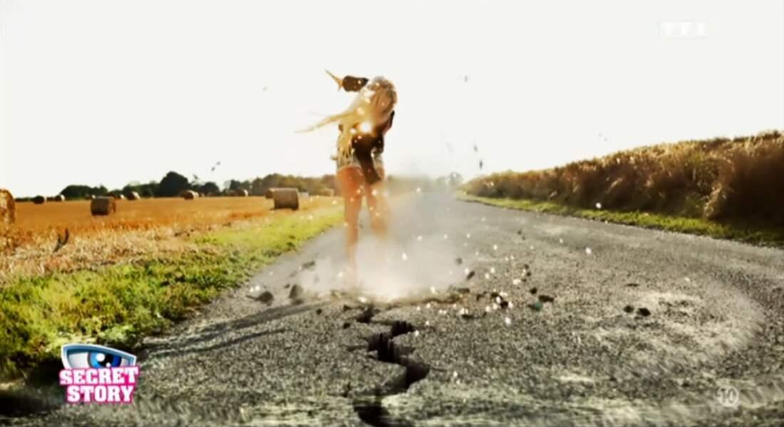 Julie, encore une qui fait exploser l'asphalte !
