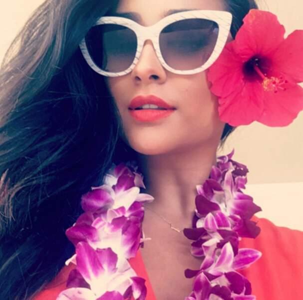 Mais on préfère ce filtre Snapchat in real life sur Shay Mitchell, en vacances au paradis !