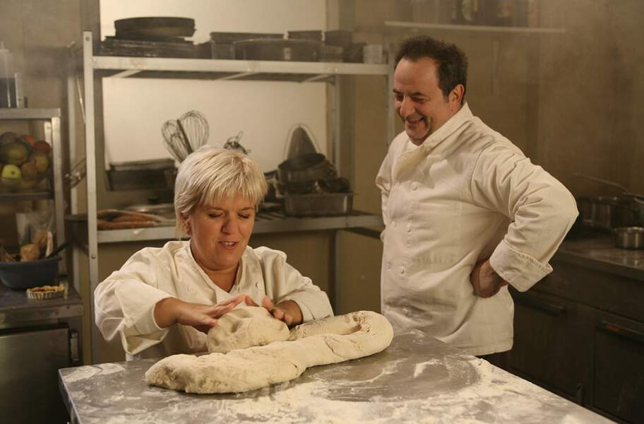 Elle a aussi eu son CAP boulangerie...