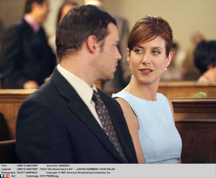 Addison Montgomery (2005-2007) : vivant loin du lieu de tournage, Kate Walsh s'est arrangée avec la productrice