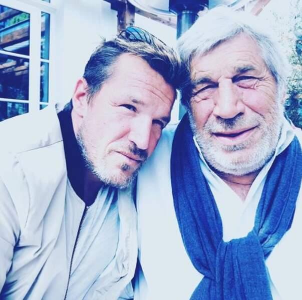 On célèbre aujourd'hui l'amour filial avec Benjamin et Jean-Pierre Castaldi.